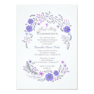 Gentle Whisper Lavender Invitation