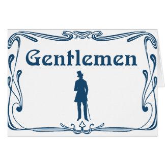 gentleman-15535 tarjeta de felicitación