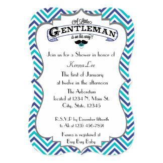 Gentleman Baby Shower Card