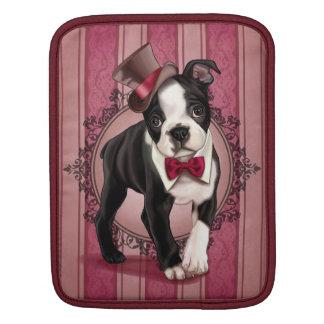 Gentleman Boston Terrier iPad Sleeve