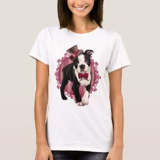 Gentleman Boston Terrier T-Shirt