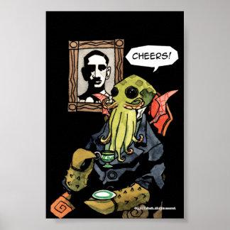 Gentleman Cthulhu: Cheers Poster