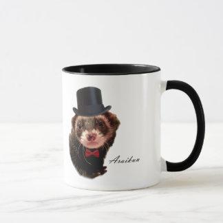 Gentleman ferret mug
