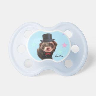 Gentleman ferret pacifier