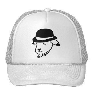 Gentleman Goat Trucker Hat