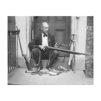 Gentleman Gunslinger, 1927 Canvas Print