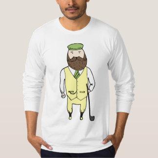 Gentleman in golf club T-Shirt