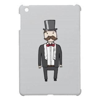 Gentleman in suit iPad mini cover