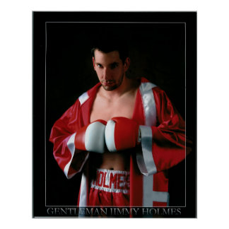 """Gentleman"" Jimmy Holmes Poster"