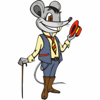 Gentleman Mouse Photo Sculpture