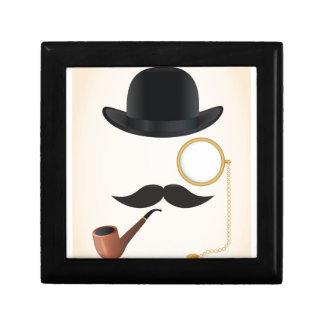 Gentleman Moustache Must-Dash Monacle & Bowler Hat Gift Box