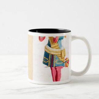 Gentleman of the Royal Family Two-Tone Coffee Mug
