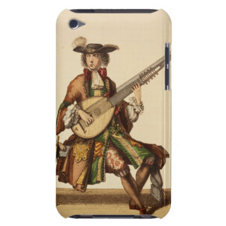 Gentleman Playing the Angelica, fashion plate, c.1 iPod Touch Cover