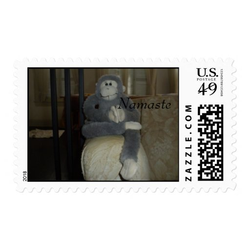 gentleman pose, Namaste Stamps