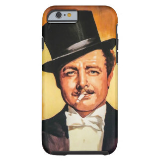 Gentleman Retro Tough iPhone 6 Case