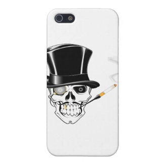 Gentleman Skull Cover For iPhone SE/5/5s