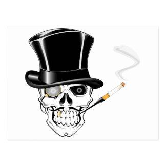 Gentleman Skull Postcard
