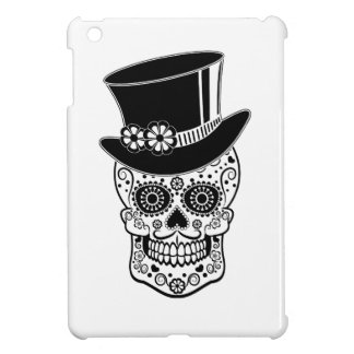 Gentleman Sugar Skull-01 iPad Mini Cases