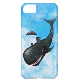 Gentleman Whale iPhone 5C Cases