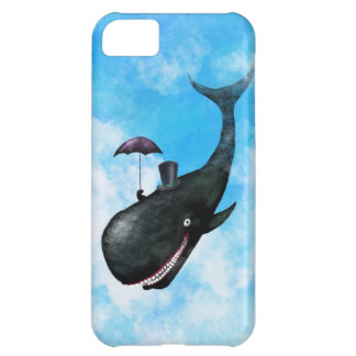 Gentleman Whale Cover For iPhone 5C