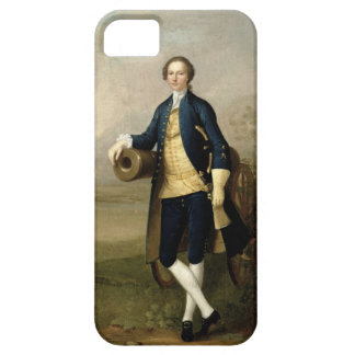 Gentleman with a Cannon, 1741 (oil on canvas) iPhone SE/5/5s Case