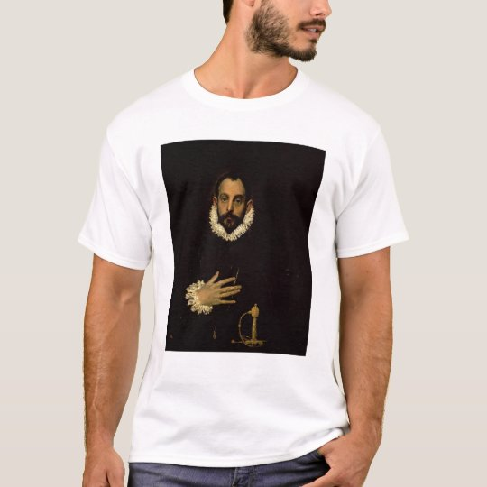 Gentleman with his hand on his chest, c.1580 T-Shirt