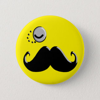 gentleman with monocle button