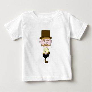 Gentleman with Mustache and Top Hat.