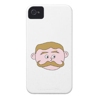 Gentleman with Mustache. iPhone 4 Case