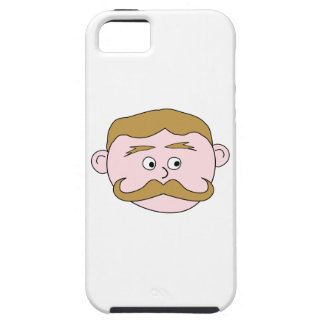 Gentleman with Mustache. iPhone SE/5/5s Case