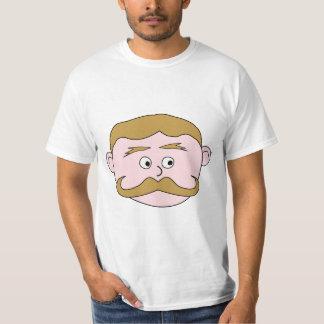 Gentleman with Mustache. T-Shirt