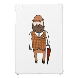 Gentleman with umbrella case for the iPad mini
