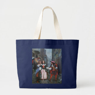 Gentlemanly Charms Large Tote Bag