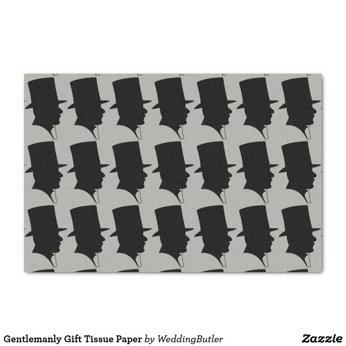 Gentlemanly Gift Tissue Paper