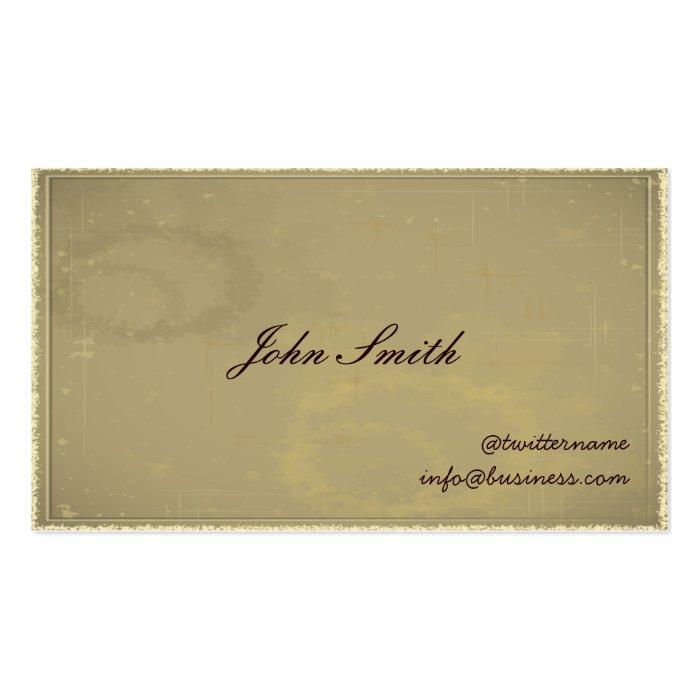 Gentleman's Calling/Visiting Card business card