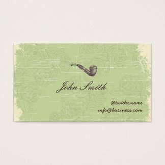Gentleman's Pipe Calling Card business card v2