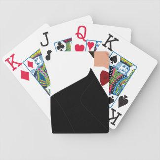 Gentleman's poker night bicycle playing cards