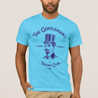 Gentleman's Trading Club T-Shirt - Blue Print
