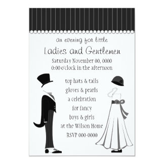 Gentlemen and Ladies Card
