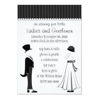 Gentlemen and Ladies Card