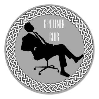 Gentlemen Club Invitations