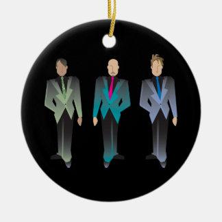 Gentlemen Only Ornaments
