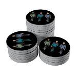 Gentlemen Only Poker Chip Poker Chips Set
