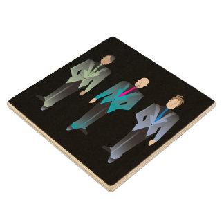 Gentlemen Only Wooden Coaster Wood Coaster