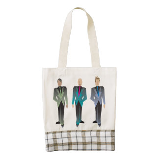 Gentlemen Only Zazzle HEART Tote Bag