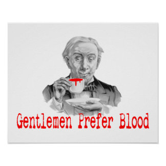 Gentlemen Prefer Blood Poster