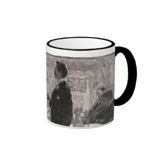 """Gentlemen,"" the candidate would beg Ringer Coffee Mug"