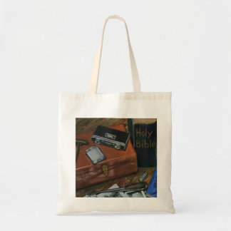 gentlemen treasure drawing print on book tote bag