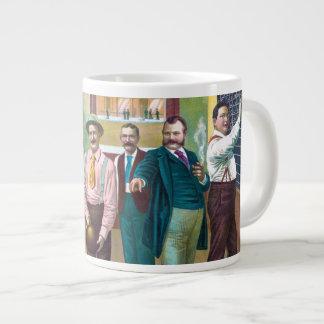 Gentlemen's Bowling League Giant Coffee Mug