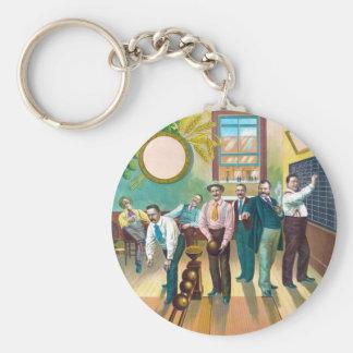Gentlemen's Bowling League Keychain
